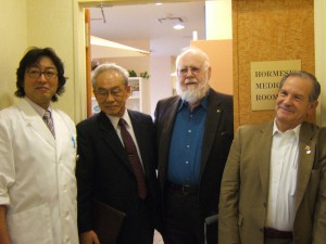 Don Luckey at symposium on radiation hormesis in Yokohama